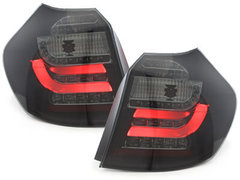 Pilotos faros traseros BMW 1er E87 04-03.07 negro/ahumado