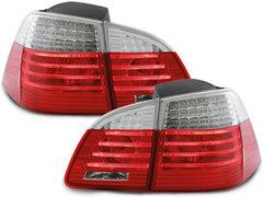 Pilotos faros traseros LED BMW E61 Touring 04-07 rojo/cristal