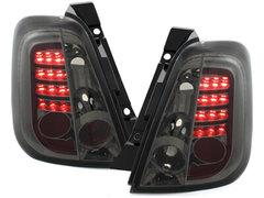 Pilotos faros traseros LED Fiat 500 07+ ahumado