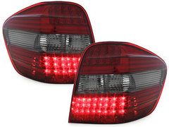 Pilotos faros traseros LED Mercedes Benz clase M 05+ W164 ahumado/