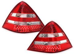 Pilotos faros traseros LED Mercedes Benz SLK R170 00-04 rojo/crist
