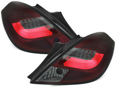 Pilotos faros traseros LED Opel Corsa D 06-10 5P negro