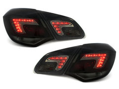 Pilotos faros traseros carDNA Opel Astra J LIGHTBAR negro/ahumado