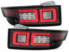Pilotos faros traseros LED Range Rover Evoque 2011+ negro
