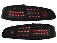 LITEC Pilotos faros traseros LED Seat Ibiza 6L 02.02-08 negro/ahum