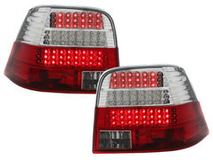 Pilotos faros traseros LED VW Golf IV 97-04 rojo/cristal intermite