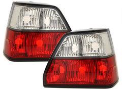 Pilotos faros traseros VW Golf II 83-92 rojo/cristal