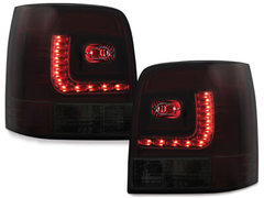 LITEC Pilotos faros traseros LED VW Passat 3B/G 97-05 rojo/ahumado