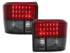 Pilotos faros traseros LED VW T4 90-03 ahumado/rojo