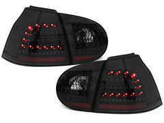 Pilotos faros traseros LED VW Golf V 5 03-09 negro