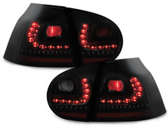 LITEC Pilotos faros traseros LED VW Golf V 03-09 negro/ahumado