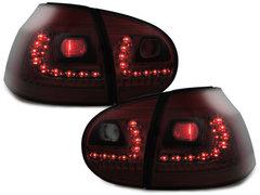 LITEC Pilotos faros traseros LED VW Golf V 03-09 rojo/ahumado