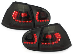 LITEC Pilotos faros traseros LED VW Golf V 03-09 ahumado
