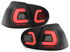 Pilotos faros traseros LED VW Golf V 03-09 negro/ahumado