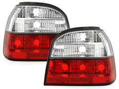 Pilotos faros traseros VW Golf III 91-98 rojo/cristal RV26