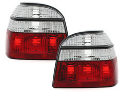 Pilotos faros traseros VW Golf III 91-98 rojo/cristal RV26D
