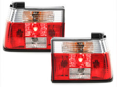 Pilotos faros traseros VW Jetta II (19E) 01.84-12.92 rojo/cristal