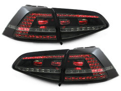 DECTANE Pilotos faros traseros LED VW GOLF VII GTI-LOOK Negros