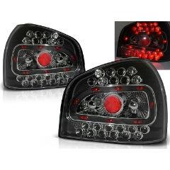 Focos / Pilotos traseros de LED Audi A3 08.96-08.00 Negro Led