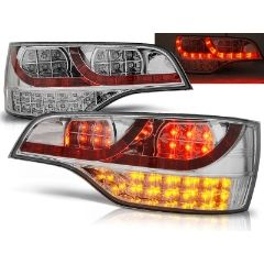 Focos / Pilotos traseros de LED Audi Q7 06-09 Cromado Led