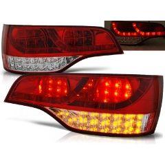 Focos / Pilotos traseros de LED Audi Q7 06-09 Rojo/blanco Led