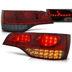 Focos / Pilotos traseros de LED Audi Q7 06-09 Rojo Ahumado Led