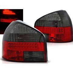 Focos / Pilotos traseros de LED Audi A3 08.96-08.00 Rojo Ahumado Led