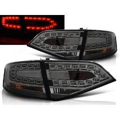 Focos / Pilotos traseros de LED Audi A4 B8 08-11 Sedan Ahumado Led