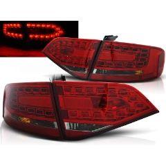 Focos / Pilotos traseros de LED Audi A4 B8 08-11 Sedan Rojo Ahumado Led
