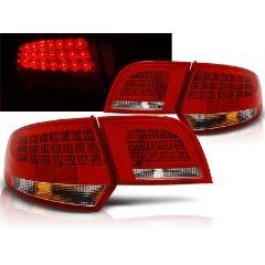 Focos / Pilotos traseros de LED Audi A3 8p 04-08 Sportback Rojo/blanco Led