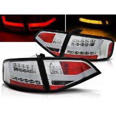 Focos / Pilotos traseros de LED Audi A4 B8 08-11 Sedan Cromado Led