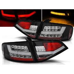 Focos / Pilotos traseros de LED Audi A4 B8 08-11 Sedan Negro Led