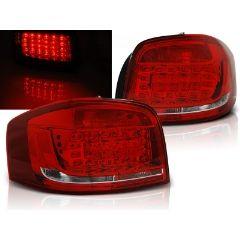 Focos / Pilotos traseros de LED Audi A3 08-12 Rojo/blanco Led