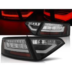Focos / Pilotos traseros de LED Audi A5 07-06.11 Coupe Negro Led Bar