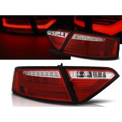 Focos / Pilotos traseros de LED Audi A5 07-06.11 Coupe Rojo/blanco Led Bar