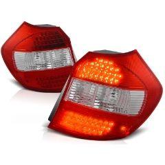 Focos / Pilotos traseros de LED Bmw E87/e81 04-08.07 Rojo/blanco Led