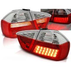 Focos / Pilotos traseros de LED Bmw E90 03.05-08.08 Rojo/blanco Led