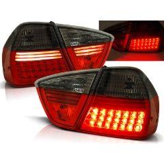 Focos / Pilotos traseros de LED Bmw E90 03.05-08.08 Rojo Ahumado Led