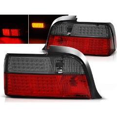 Focos / Pilotos traseros de LED Bmw E36 12.90-08.99 Coupe Rojo Ahumado Led