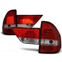 Focos / Pilotos traseros de LED Bmw X3 E83 01.04-06 Rojo/blanco Led