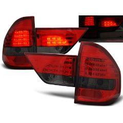 Focos / Pilotos traseros de LED Bmw X3 E83 01.04-06 Rojo Ahumado Led