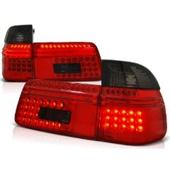 Focos / Pilotos traseros de LED Bmw E39 97-08.00 Touring Rojo Ahumado Led