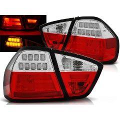 Focos / Pilotos traseros de LED Bmw E90 03.05-08.08 Rojo/blanco Led Bar