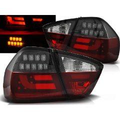 Focos / Pilotos traseros de LED Bmw E90 03.05-08.08 Rojo/blanco Negro Led Bar