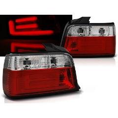Focos / Pilotos traseros de LED Bmw E36 12.90-08.99 Sedan Rojo/blanco Bar Led