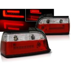 Focos / Pilotos traseros de LED Bmw E36 12.90-08.99 C/c Rojo/blanco Bar Led