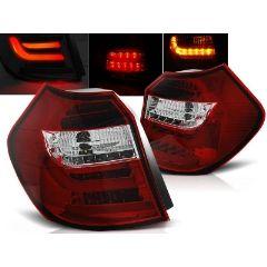 Focos / Pilotos traseros de LED Bmw E87/e81 04-08.07 Rojo/blanco Led Bar