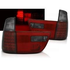 Focos / Pilotos traseros de LED Bmw X5 E53 09.99-06 Rojo Ahumado Led