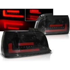 Focos / Pilotos traseros de LED Bmw E36 12.90-08.99 C/c Ahumado Bar Led
