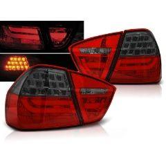 Focos / Pilotos traseros de LED Bmw E90 03.05-08.08 Rojo Ahumado Led Bar